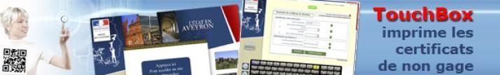 Les préfectures utilisent TouchBox pour leurs bornes interactives