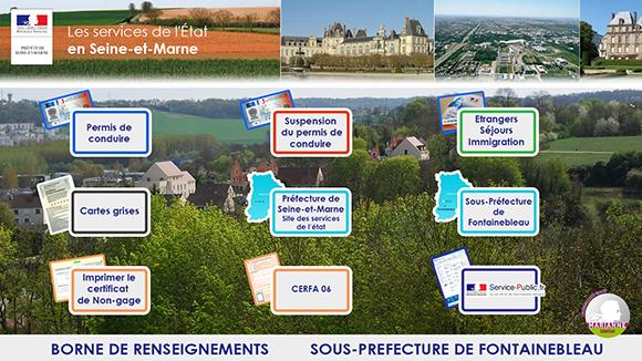 Bornes interactives pour les préfectures