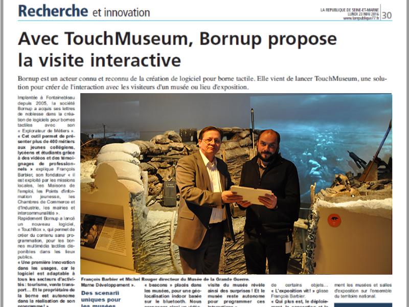 TouchMuseum, Sortie officielle